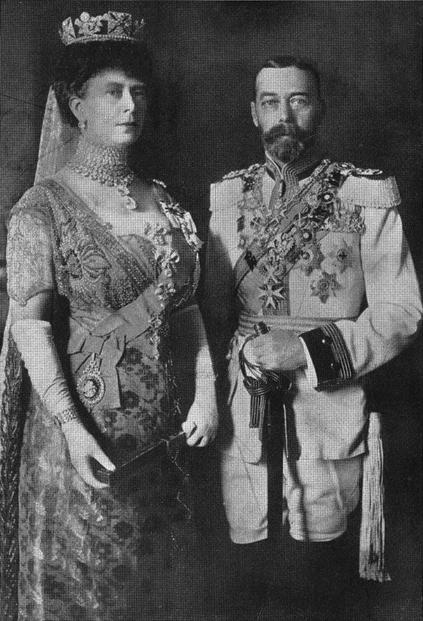 relationship between kaiser wilhelm king george