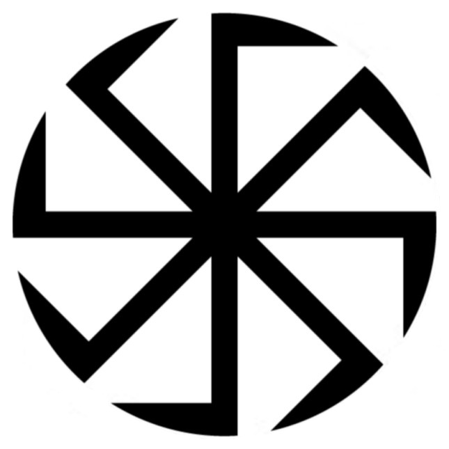 Greek Symbol For War A swastika in clockwise