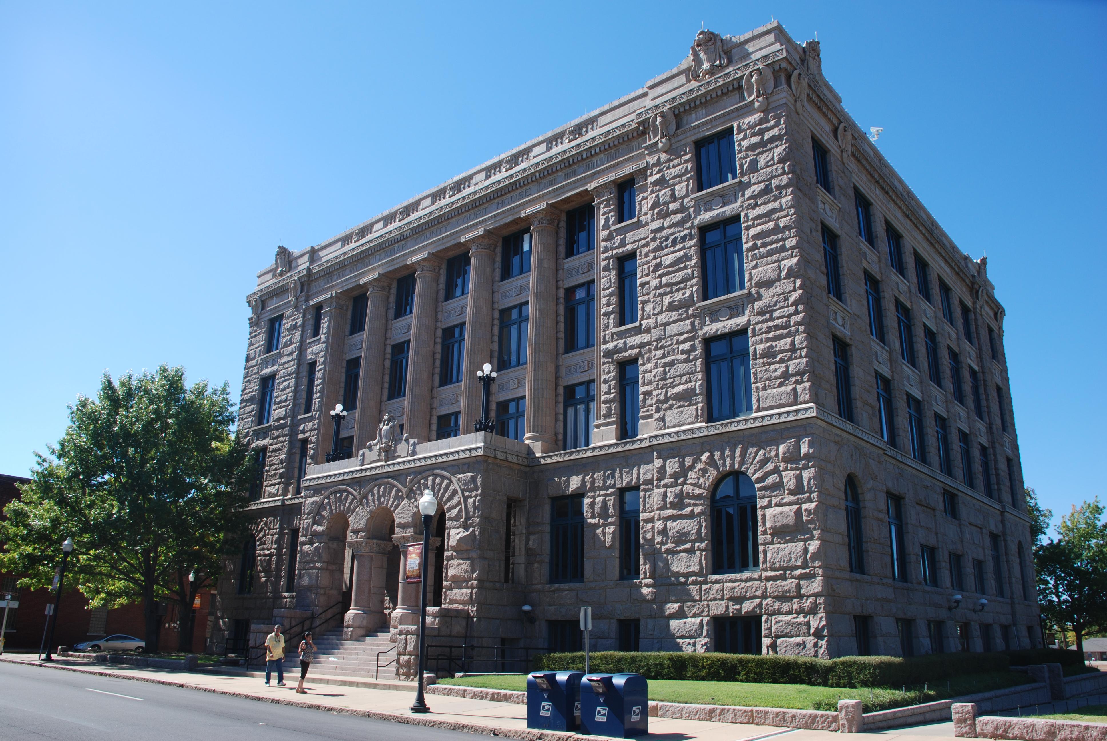 File:Lamar County Courthouse Paris Texas DSC 0641 ad.JPGbalance of lamar county
