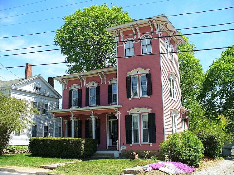 italianate style house windham center historic district 12797