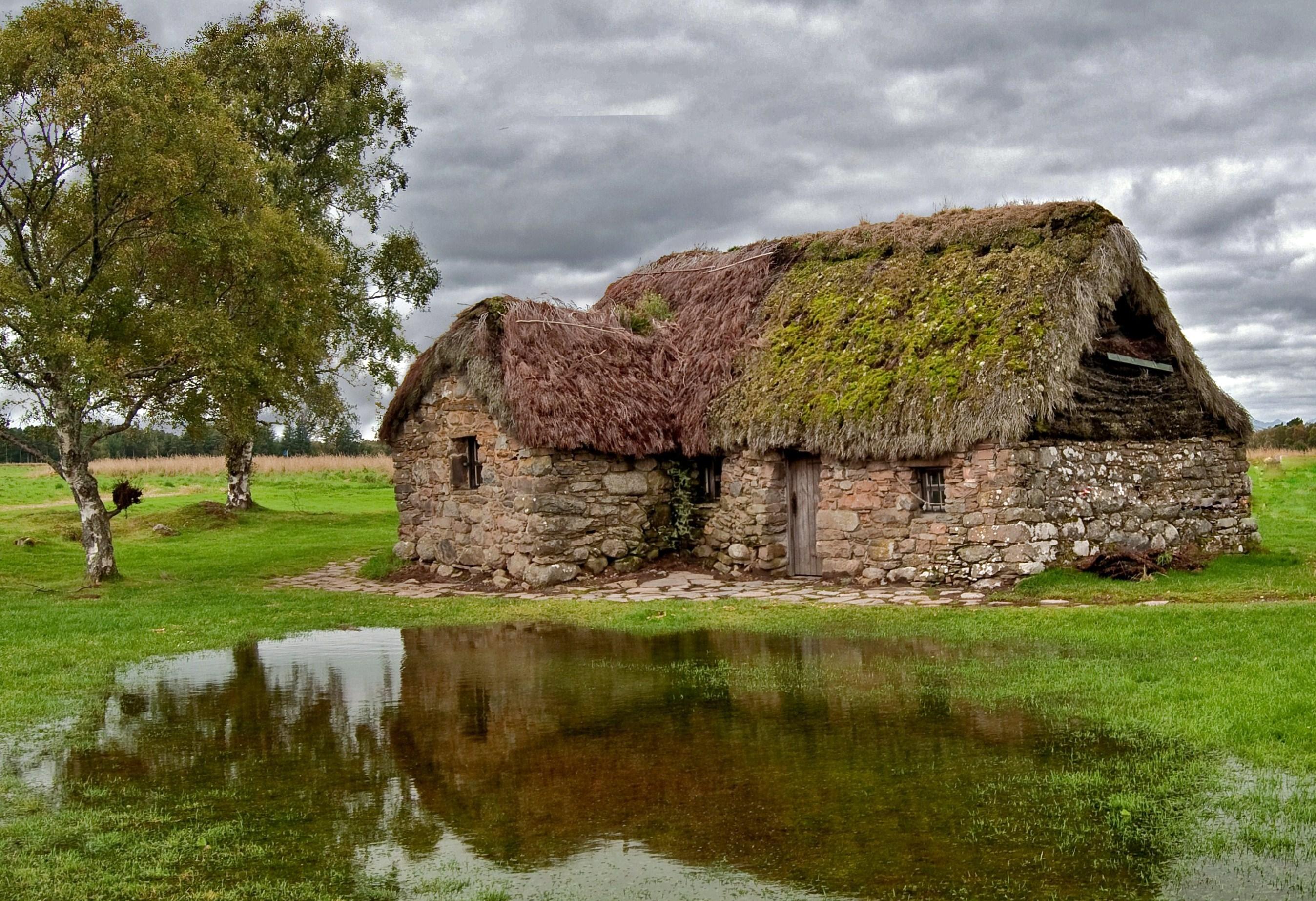 File Leanach Cottage Culloden Moor Jpg