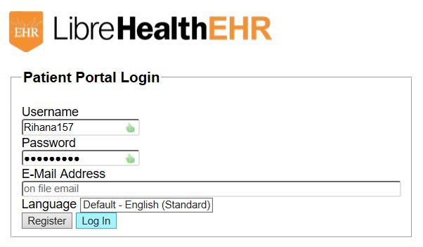 LibreHealthEHR patient-portal-window.jpg