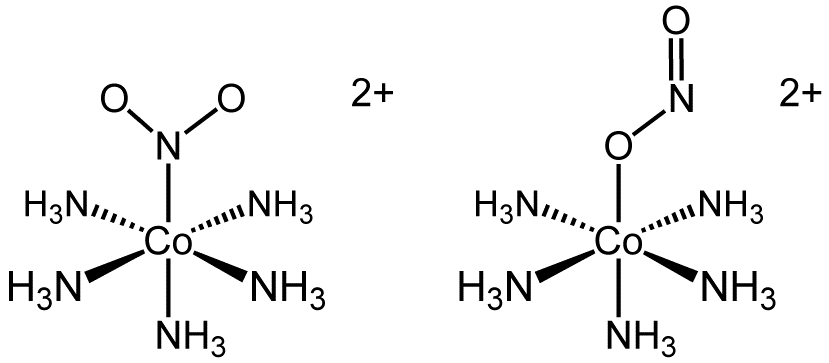 nitro vs nitrito linkage isomers The molecular structure and the main applications of butanol isomers are listed in table 1 1-butanol nitro vs nitrito linkage isomers.