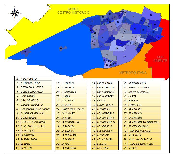File Localidad Suroccidente De Barranquilla Png Wikimedia