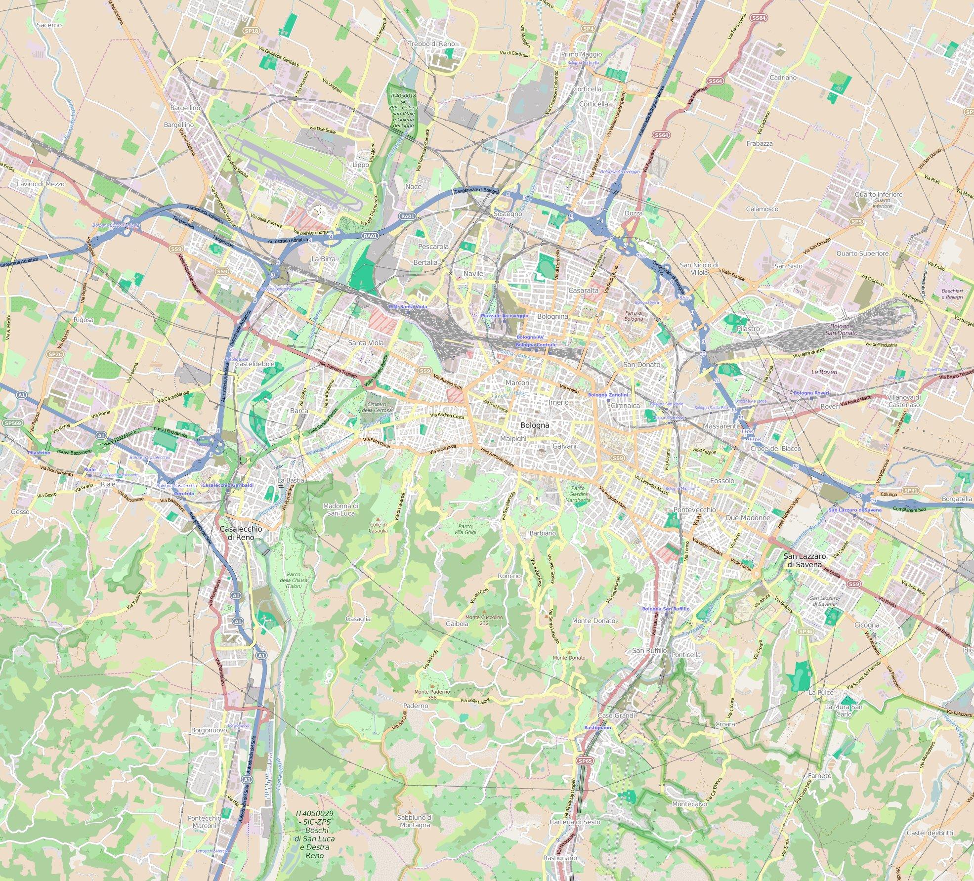 fiera di modellismo bologna italy map - photo#33
