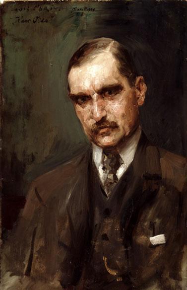 Lovis Corinth Poträt des Malers Hans Olde 1904