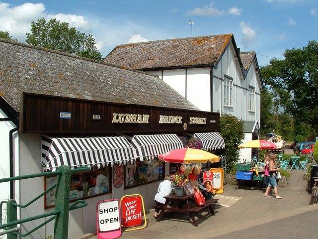 Ludham Bridge Stores and Wayfarers Restaurant - geograph.org.uk - 1428689