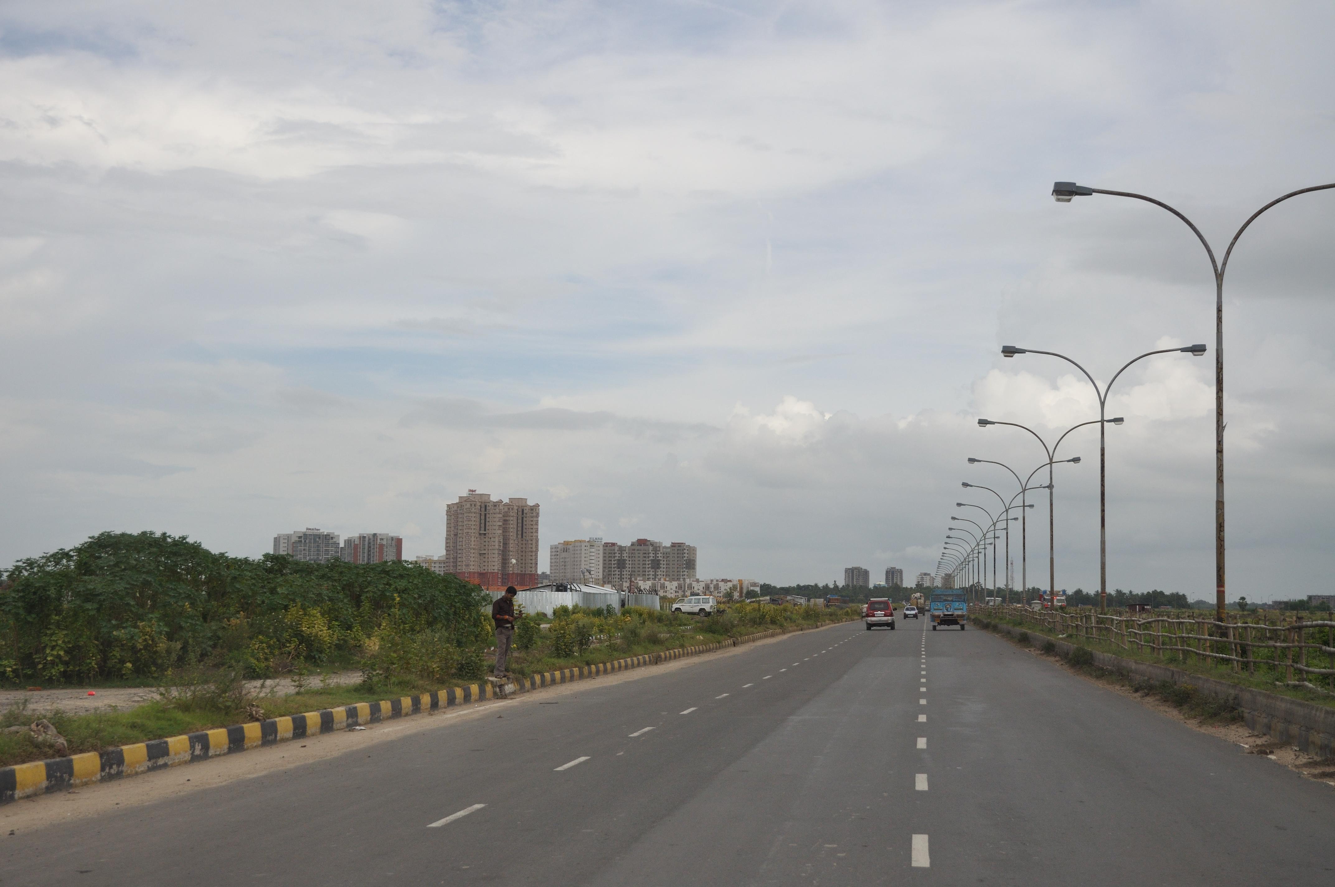 Major Arterial Road - Rajarhat 7485.JPG