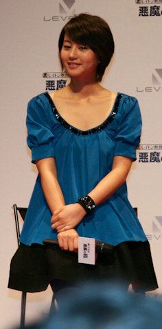 Horikita Maki in 2007.
