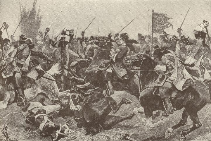 Bitwa pod Malplaquet / Źródło: Wikimedia Commons