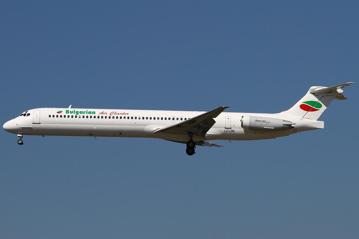 Bulgarian air charter flotte
