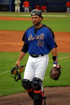 Mike Piazza spring of 2004