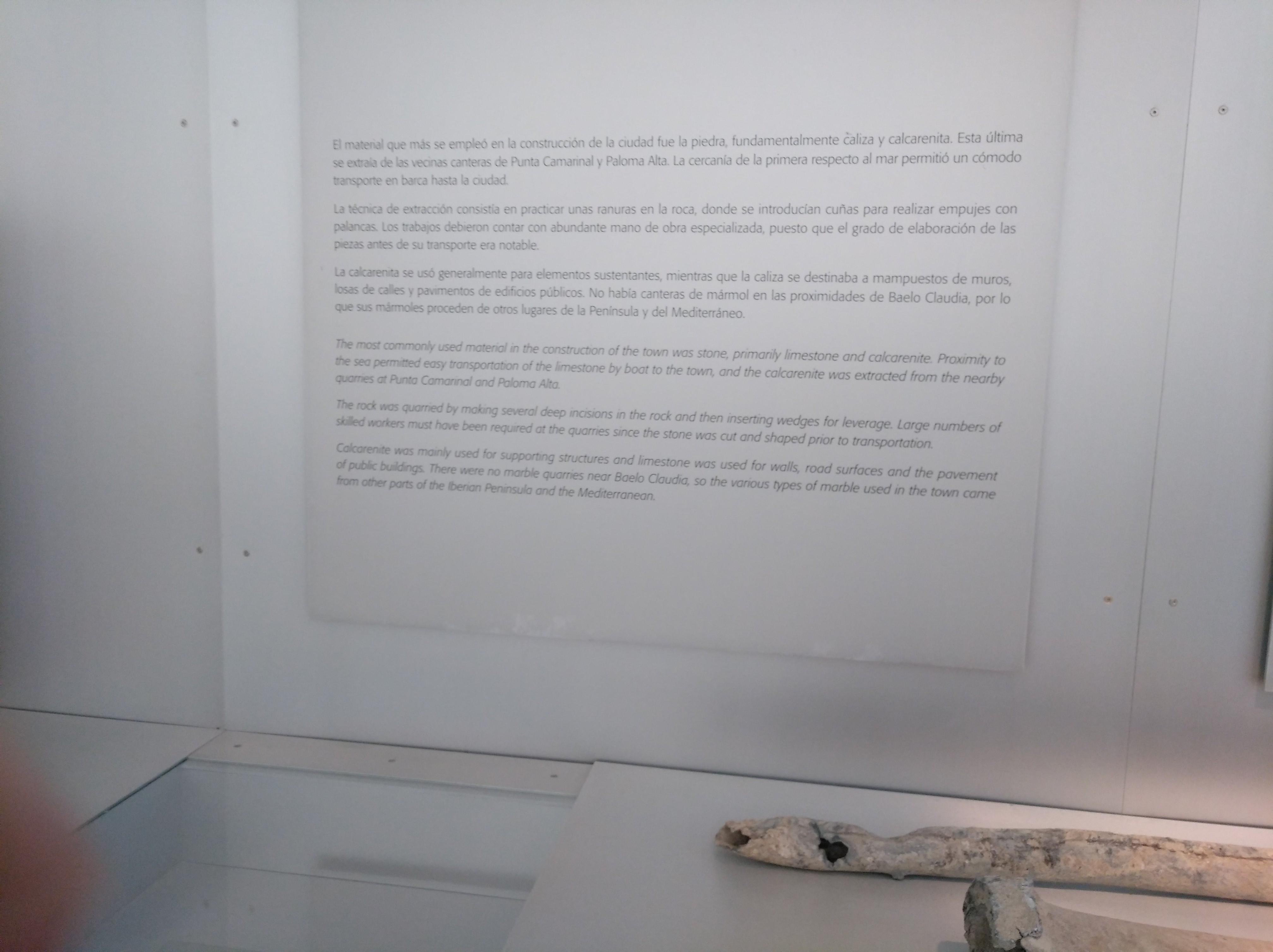 Antes La Vecina file:museo arqueológico de baelo claudia, tarifa (cádiz) 15