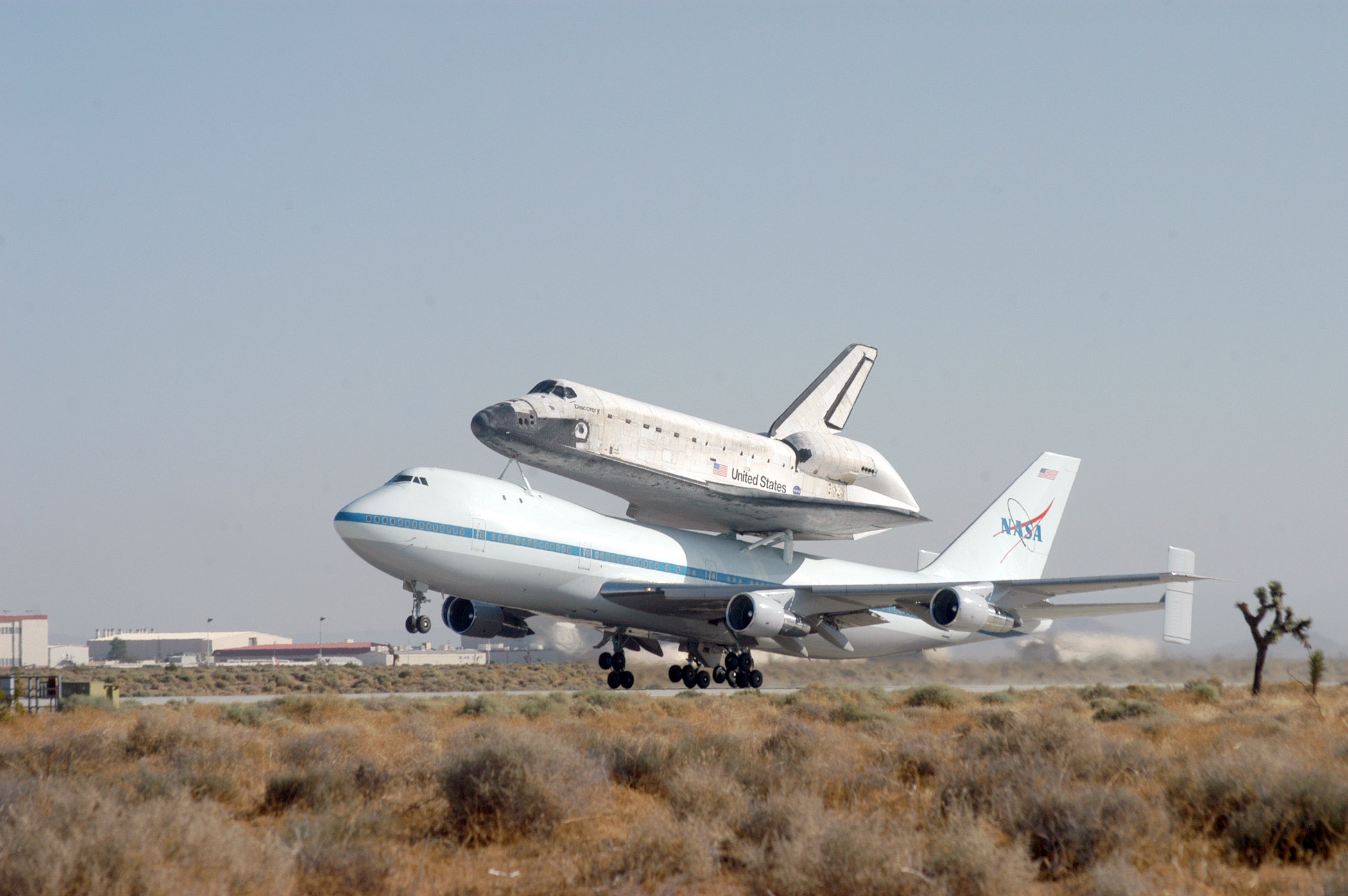 NASA 747 Shuttle Carrier Aircraft - Pics about space