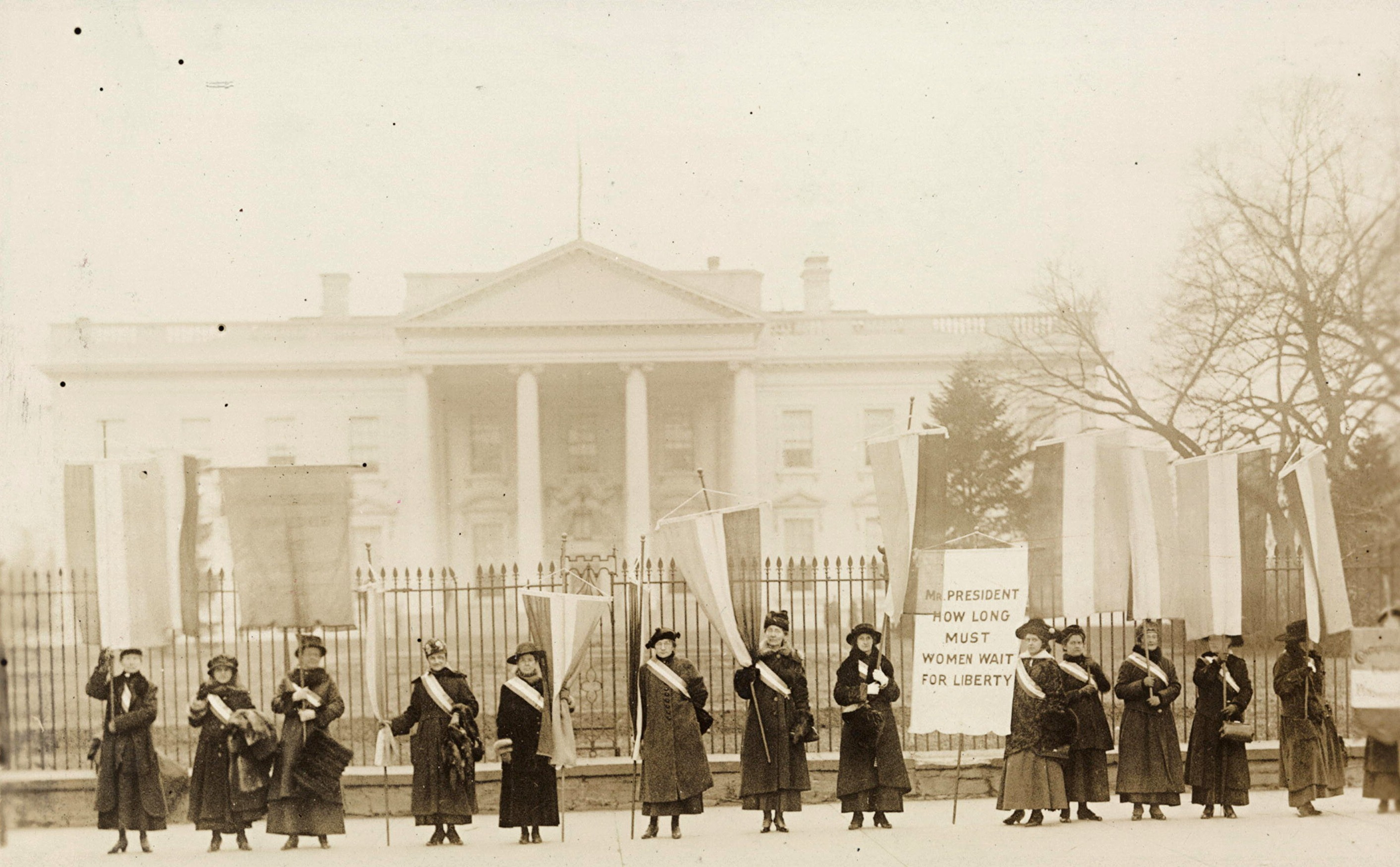 1917 white house protest pictures