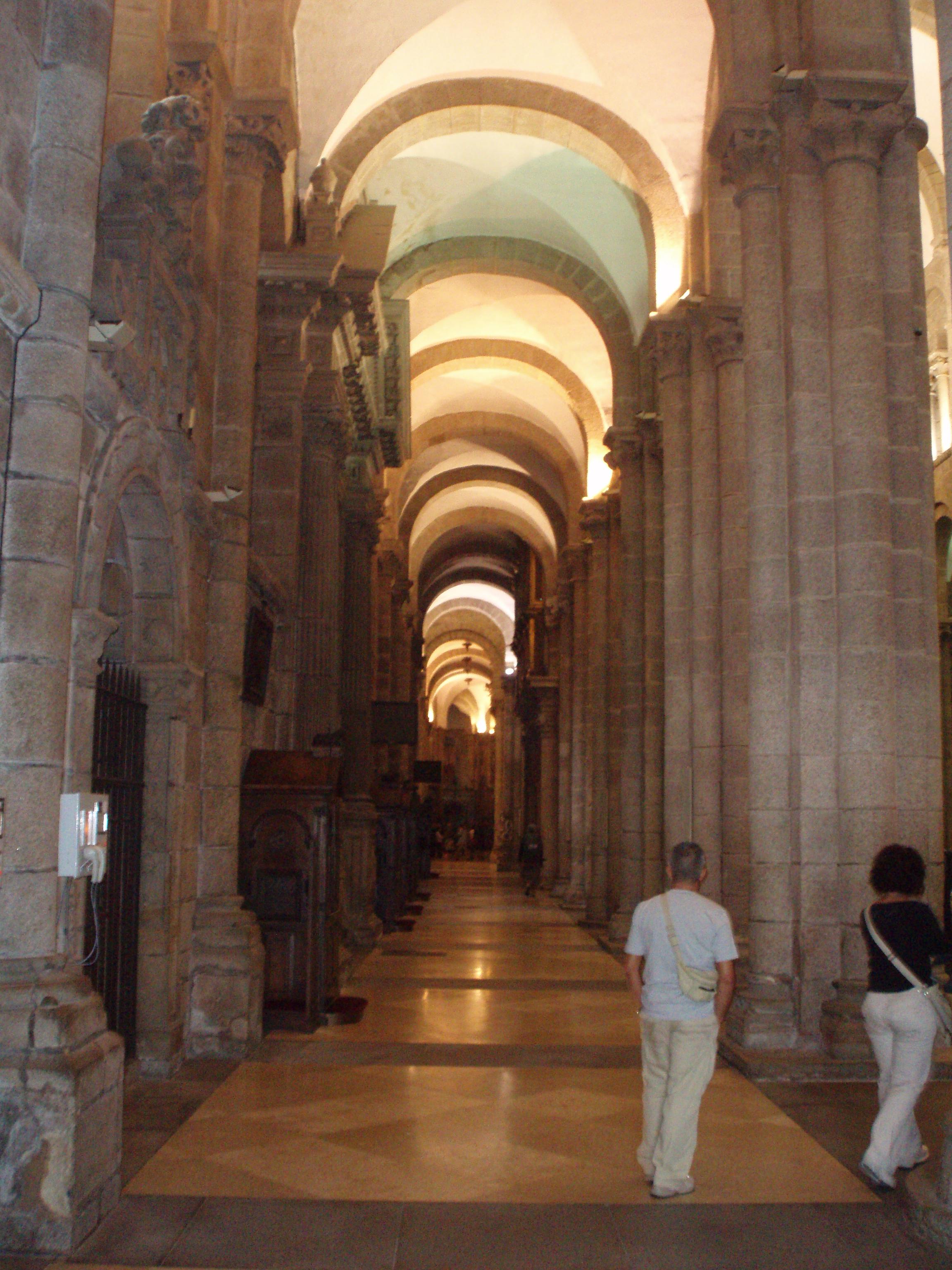 Top 15 interesting places to visit in spain - Interior santiago de compostela ...