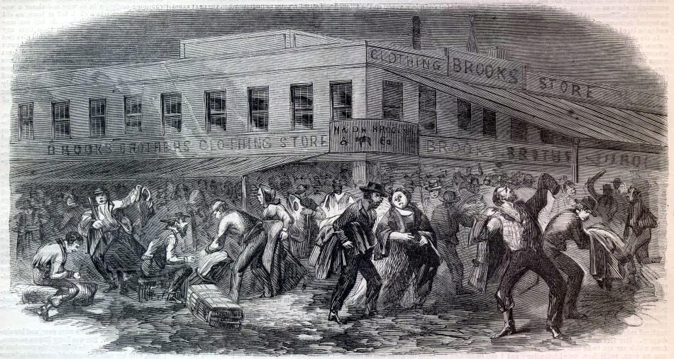The Draft Riots New York City