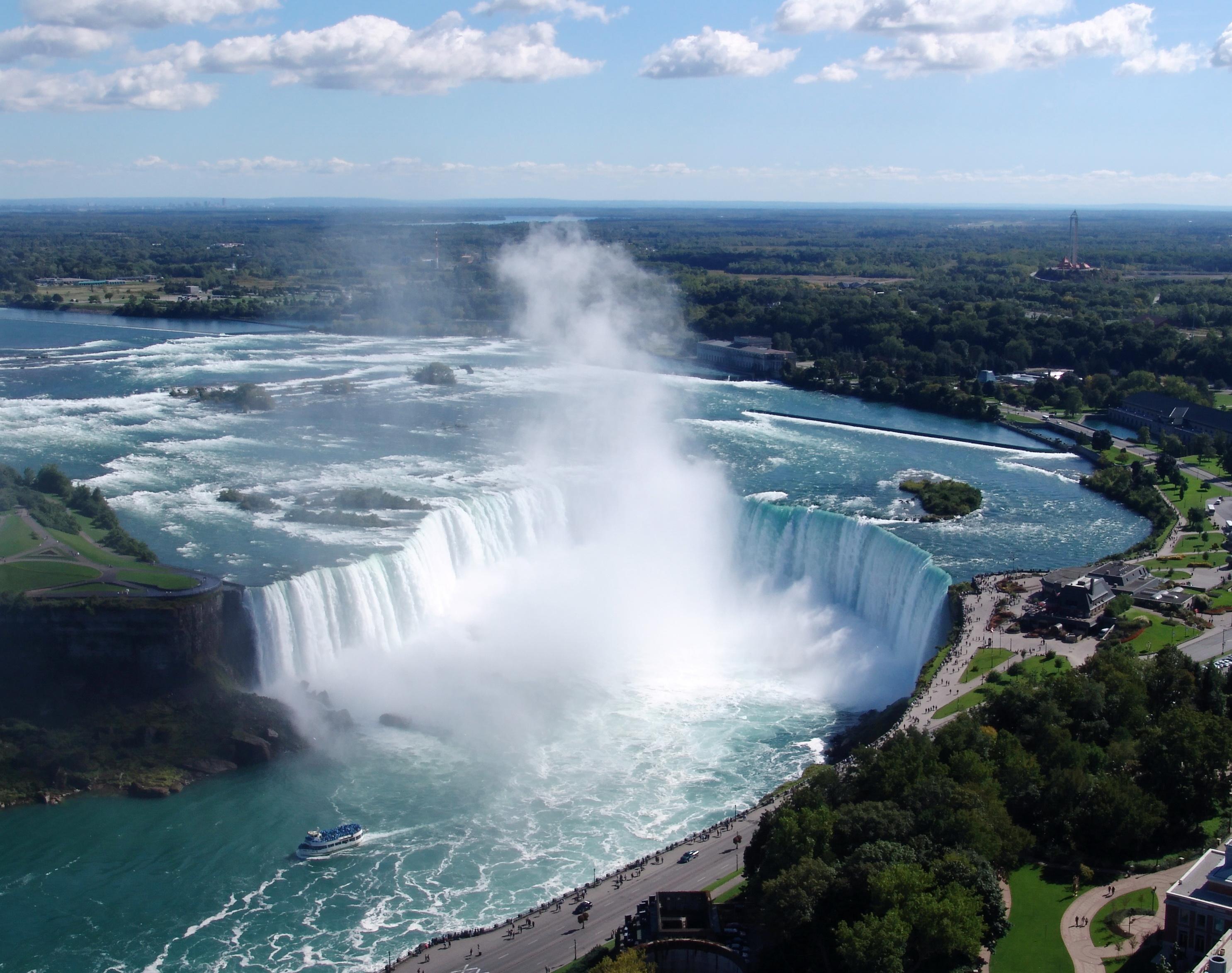 English: Niagara Falls: Horseshoe Falls view. ...