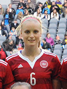 Nina Frausing-Pedersen Danish womens footballer
