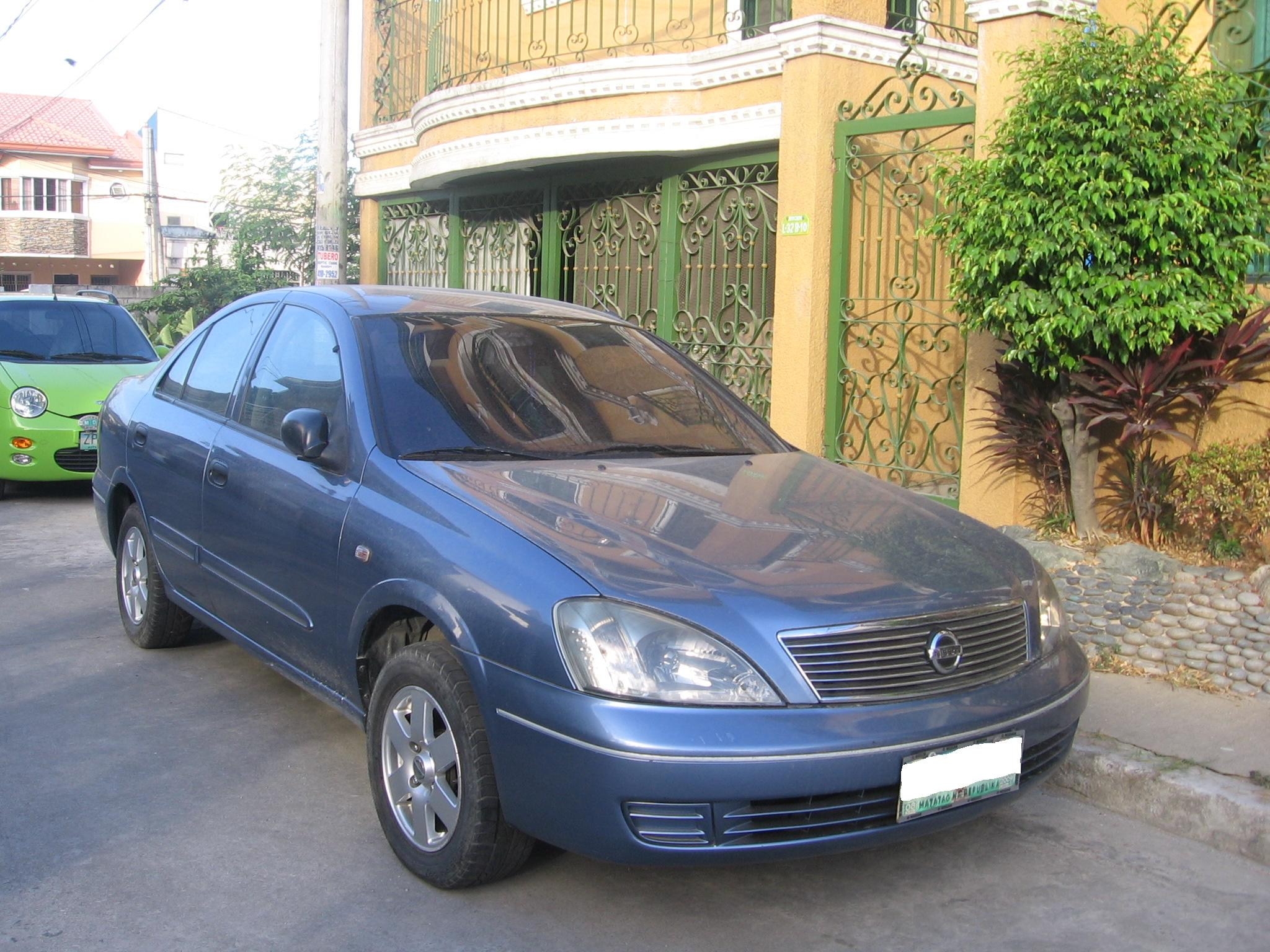 File Nissan Sentra B16 Ph Jpg Wikimedia Commons