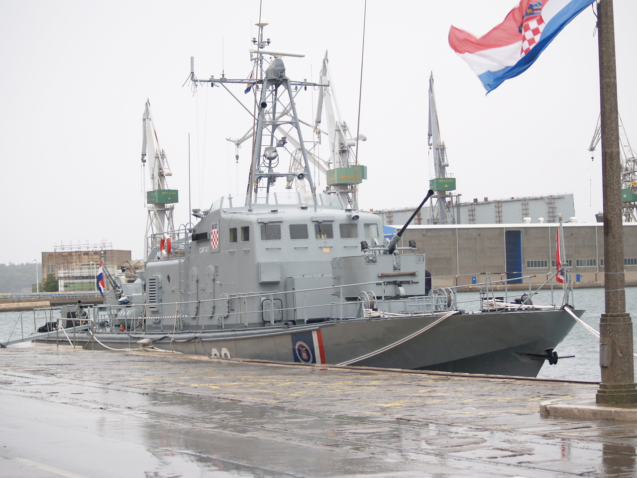 [ODB] Hrvatska Ratna Mornarica (Croatie) OB-63_Cavtat