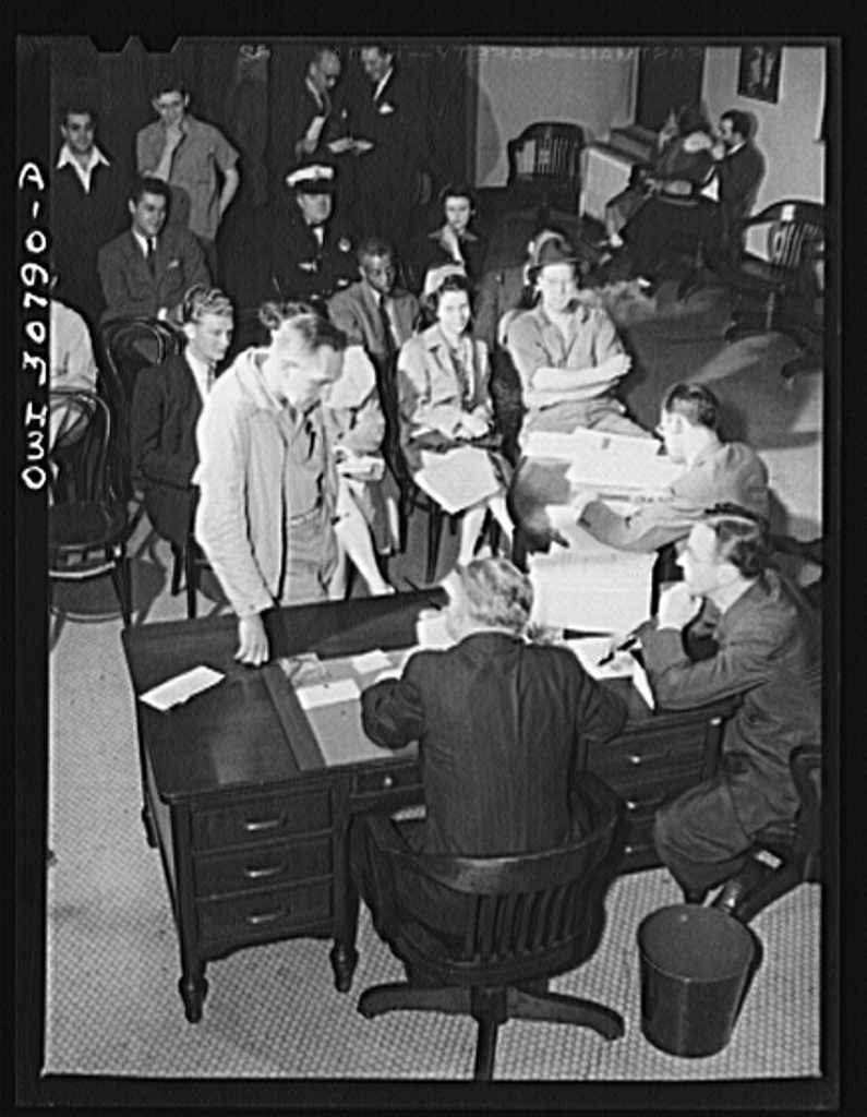 File:OPA (Office Of Price Administration) Lawyers Holding Night Hearings  8d19638v