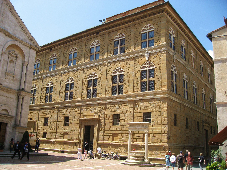 file palazzo piccolomini pienza jpg wikimedia commons