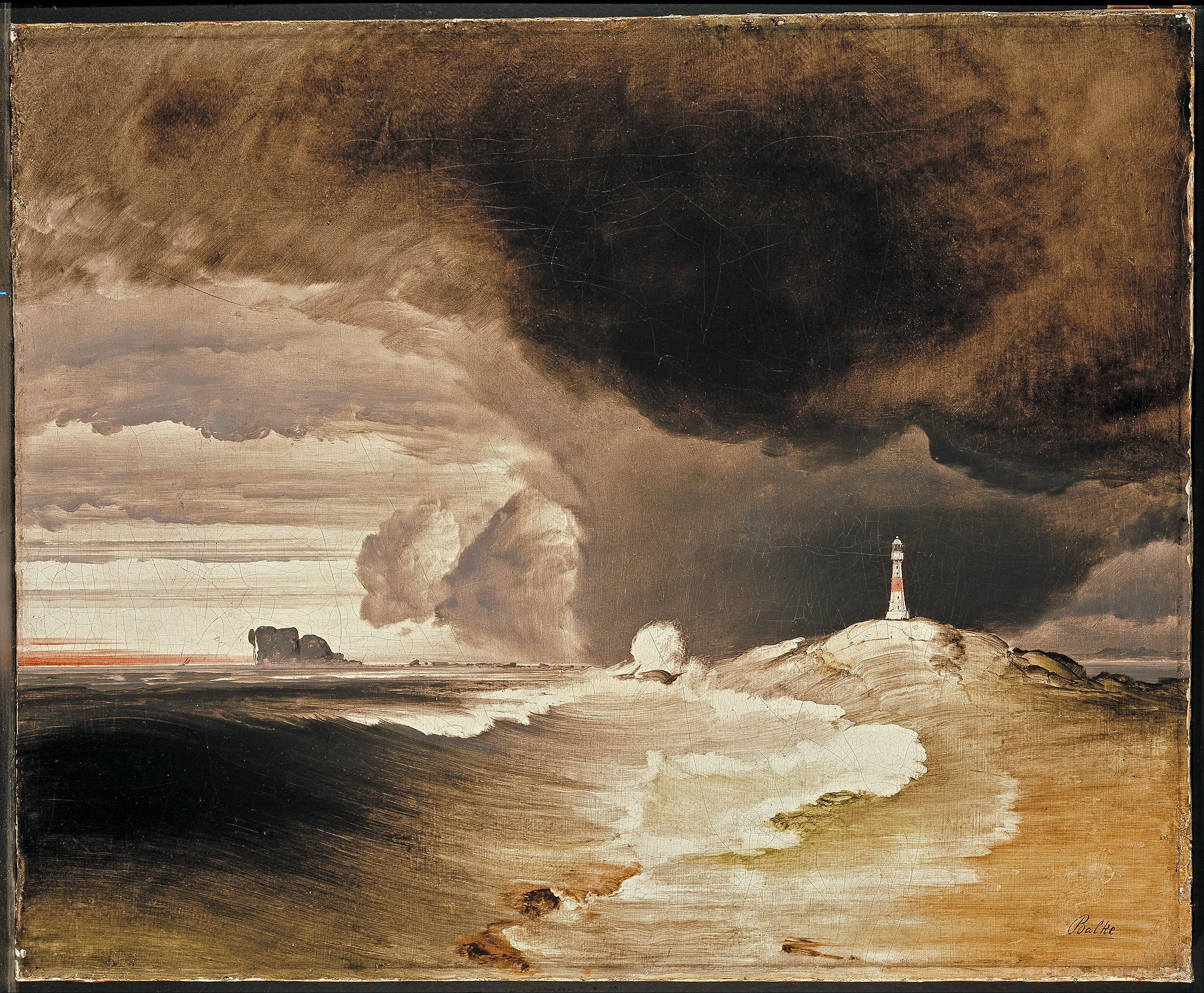 File Peder Balke Lighthouse On The Norwegian Coast