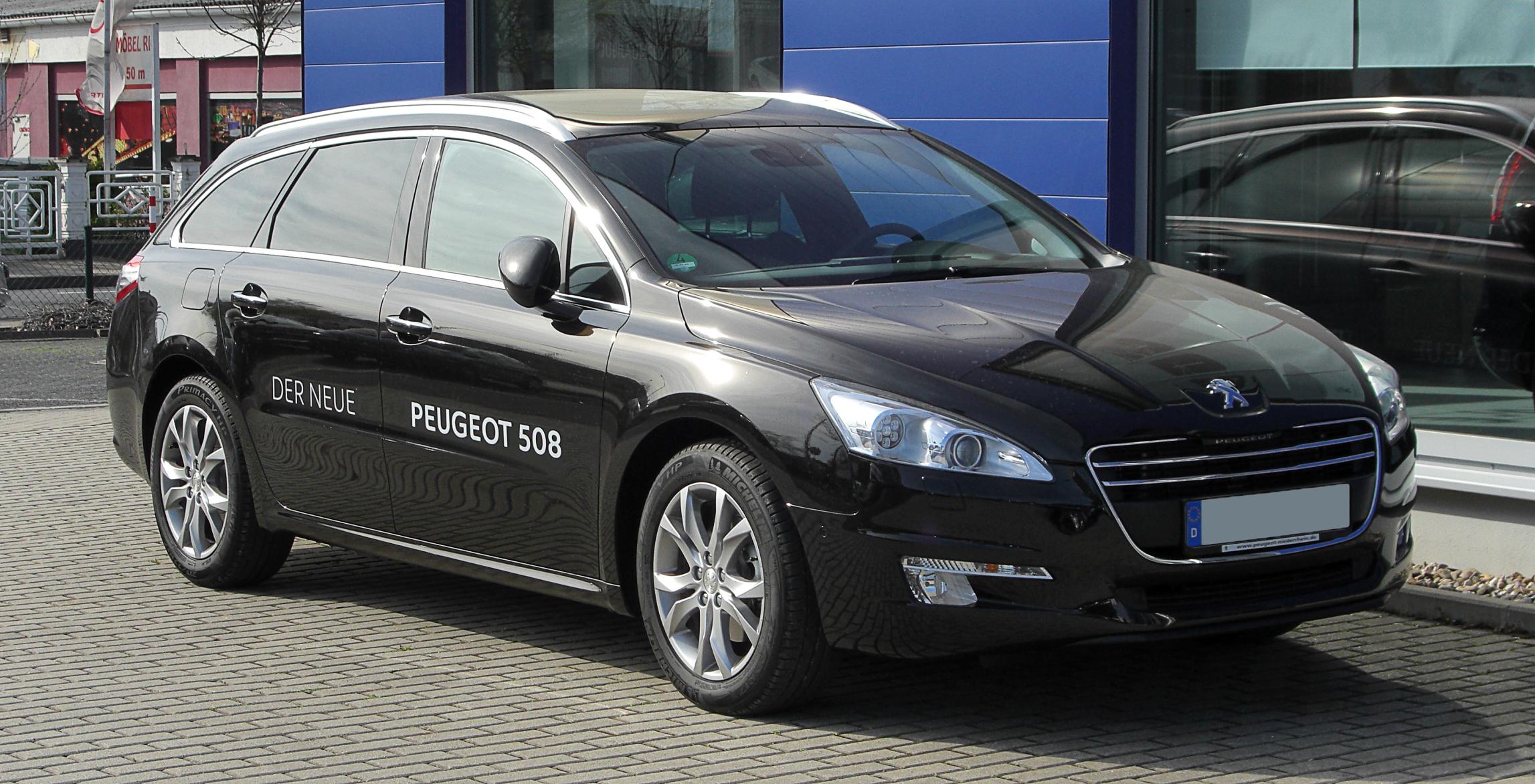 File Peugeot 508 Sw Frontansicht 2 April 2011 Hilden Jpg