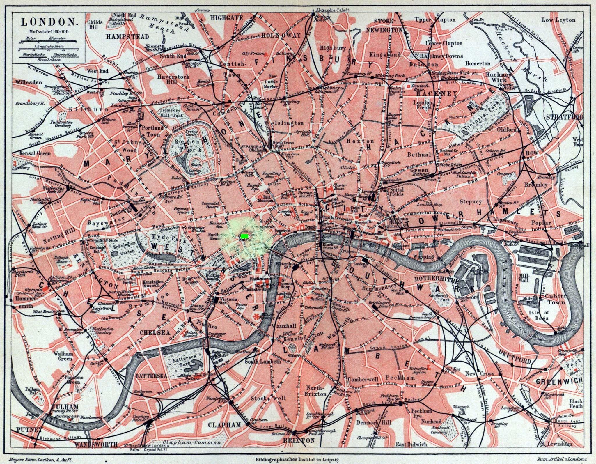 draycott hotel piccadilly map