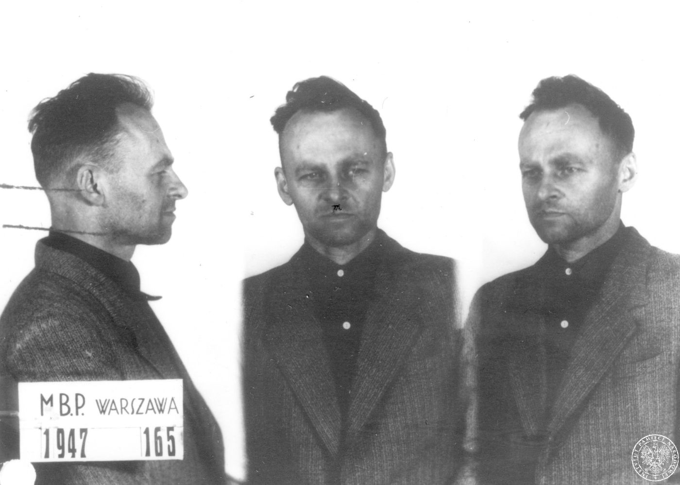 Dosiero:Pilecki photo 1947.jpg