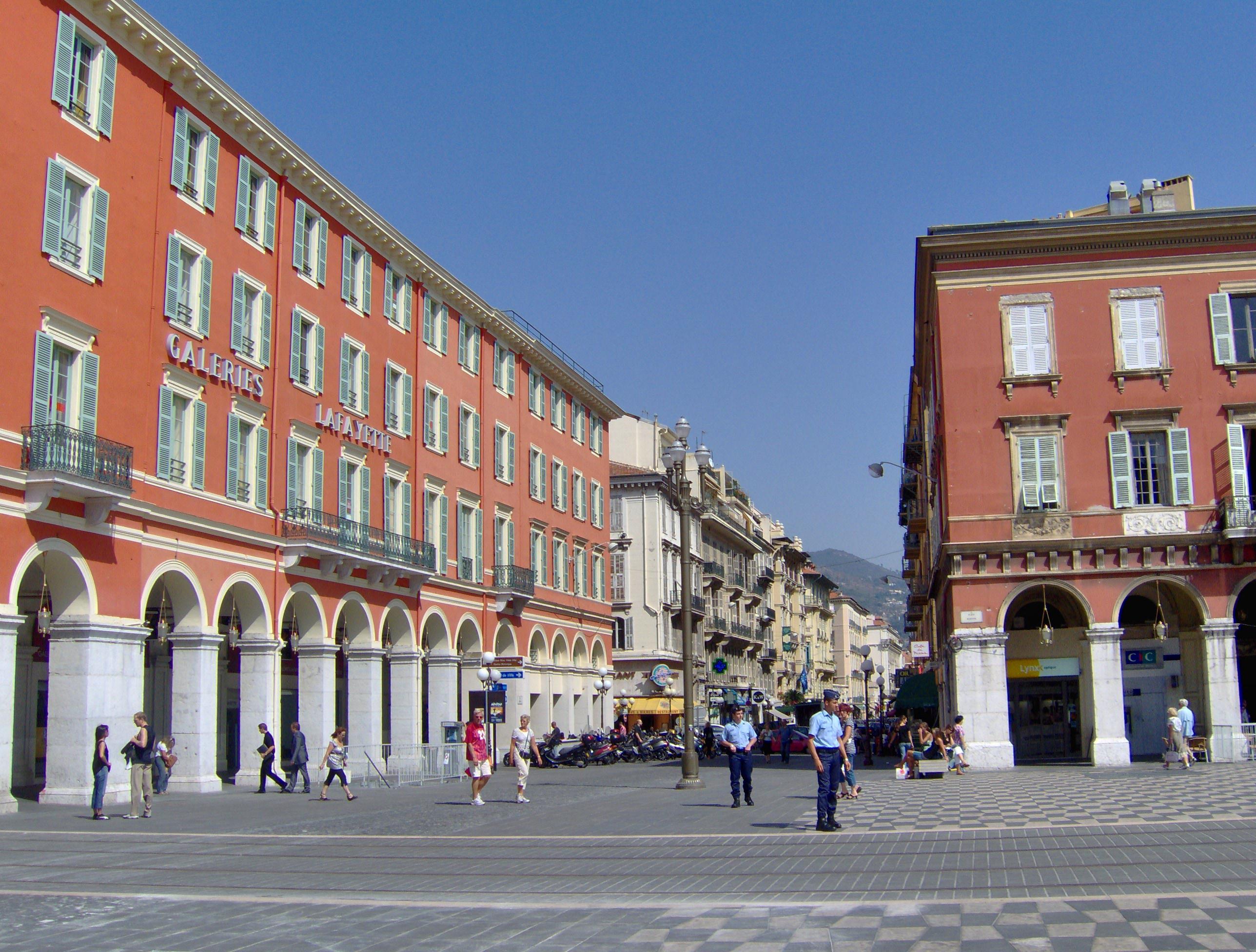 File place mass na nice rue gioffredo jpg wikimedia commons - Place massena nice ...