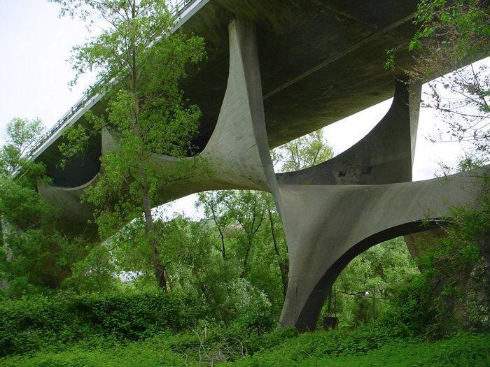 Image result for Green Concrete Bridge