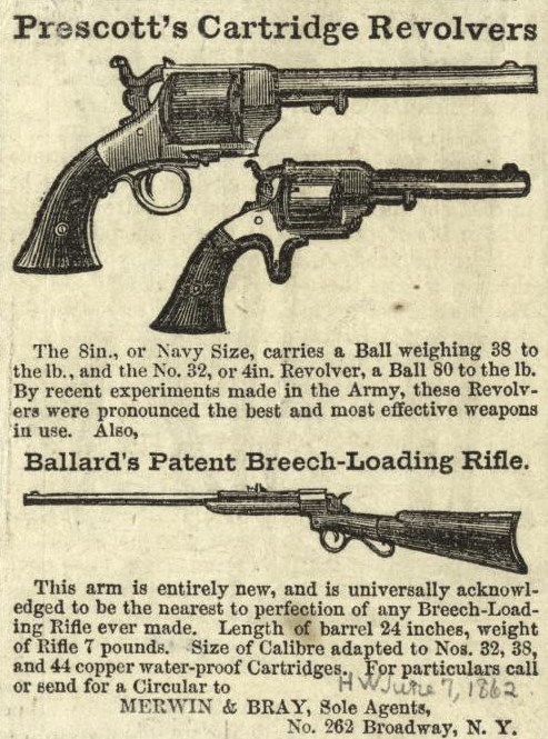 File:Prescott's cartridge revolvers and Ballard's patent
