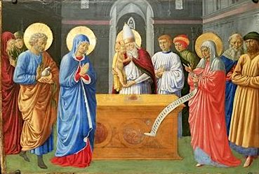 Presentation of Christ in the Temple, Benozzo Gozzoli, 1460-1461 (Philadelphia Museum of Art) Presentation of Christ in the Temple, Benozzo Gozzoli, 1460-1461 (Philadelphia Museum of Art).jpg