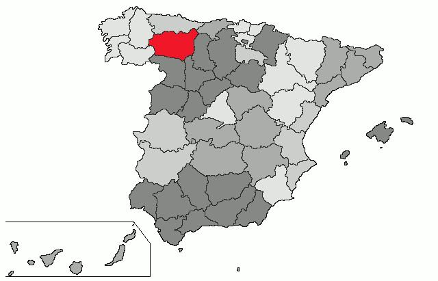 leon espanha mapa Spain | Map: León leon espanha mapa