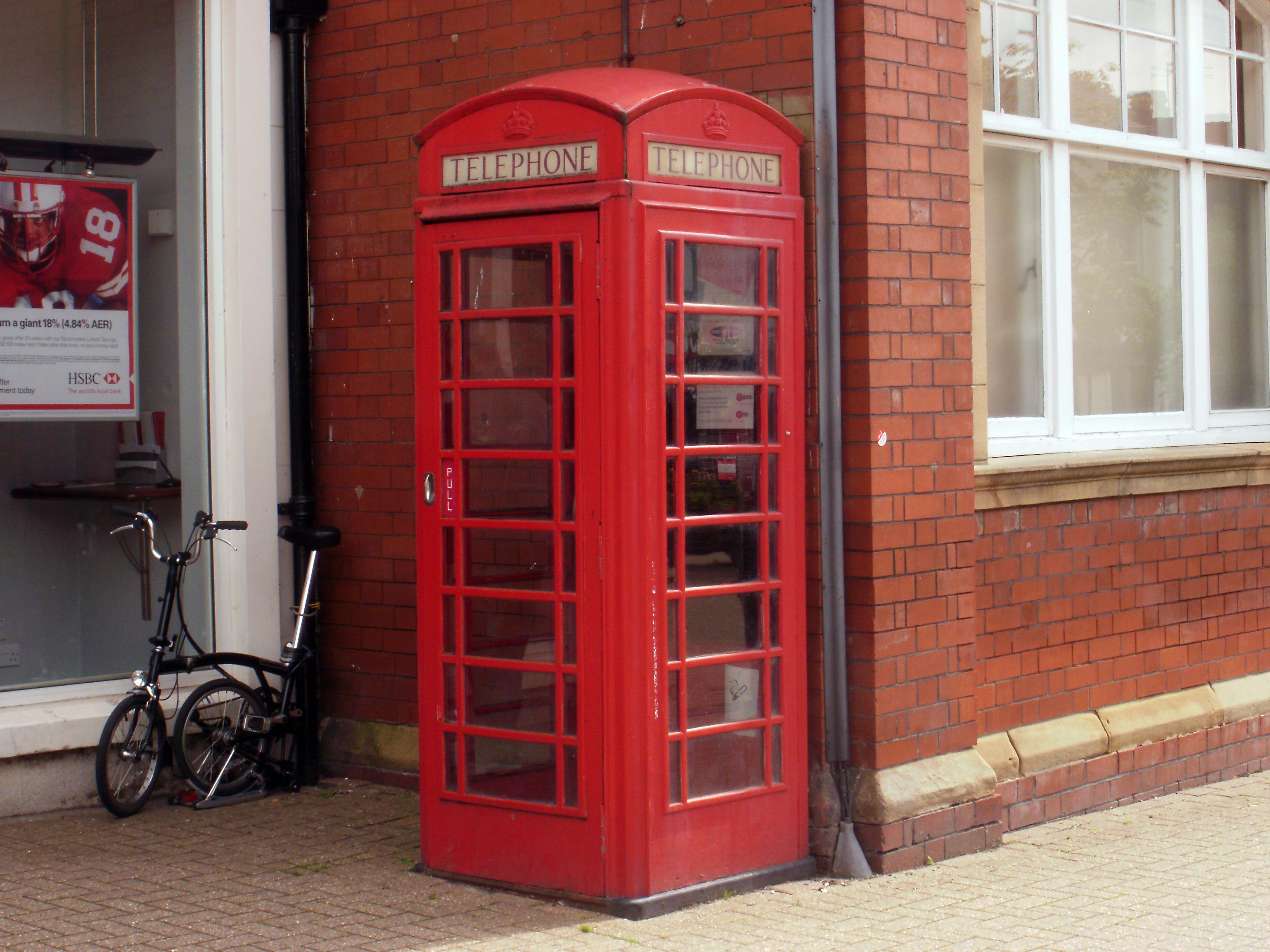 File Red Telephone Box Poulton Le Fylde Jpg Wikimedia