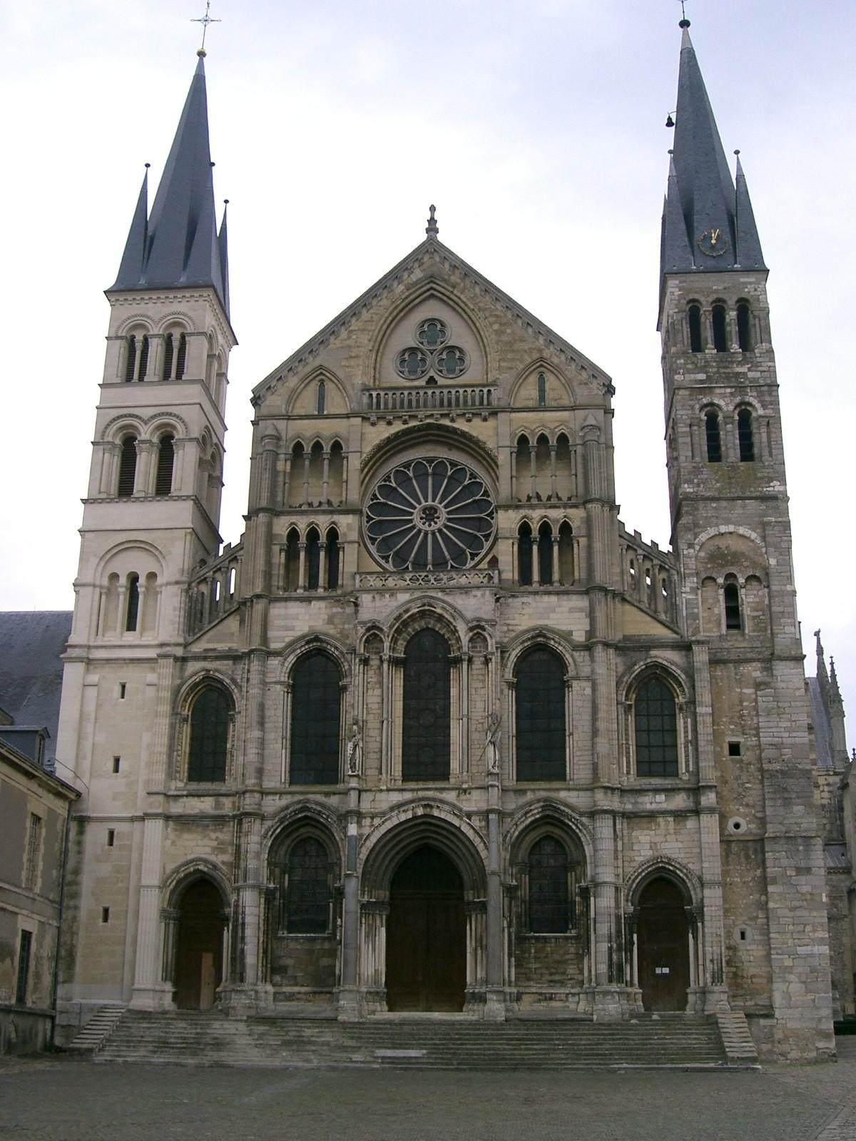 File reims basilique saint r mi jpg wikimedia commons - Basilique st remi reims ...