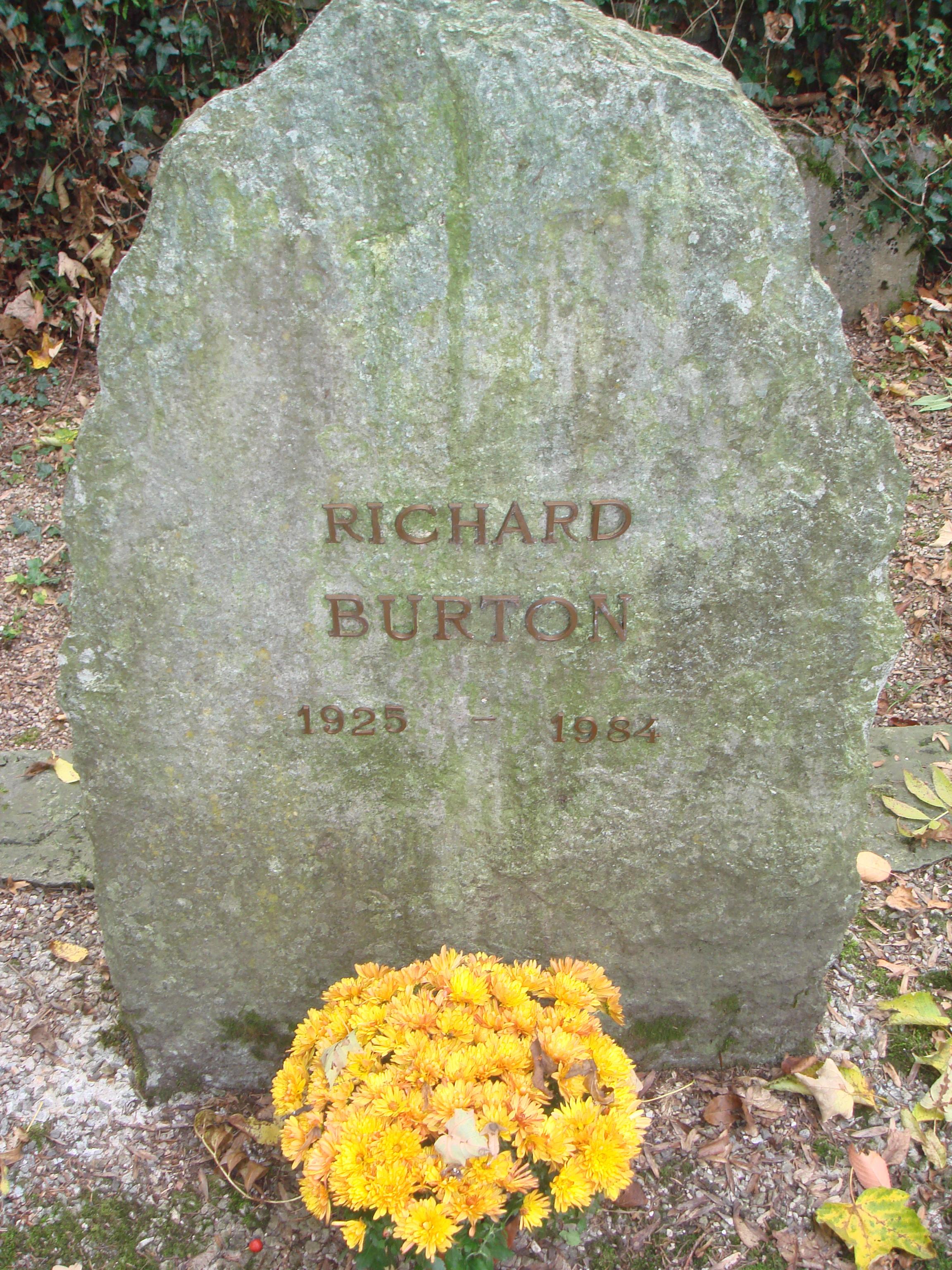 Grab von Richard Burton