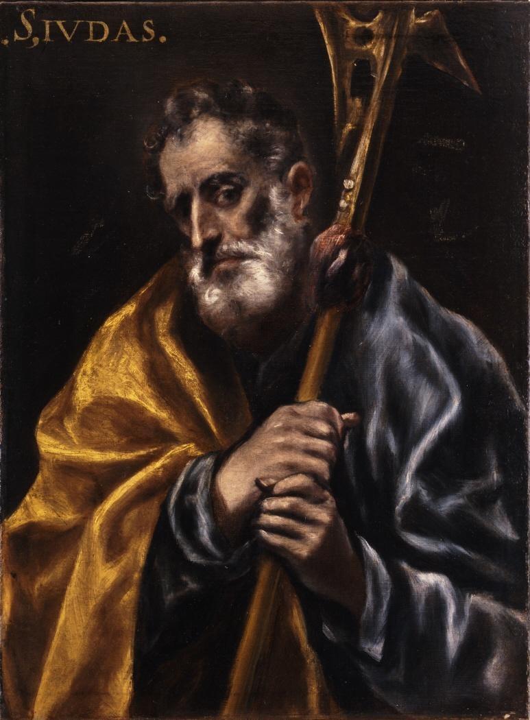 File:San Judas Tadeo, de El Greco (Museo Nacional de ...