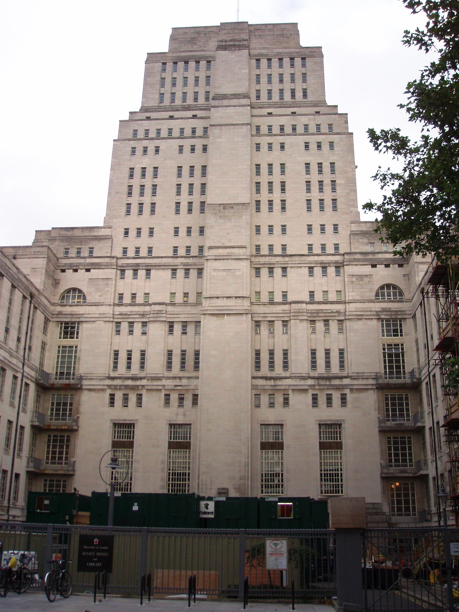 File Senate House University Of London Malet Street