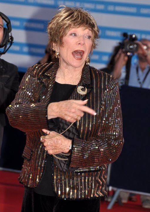 Shirley MacLaine Größe