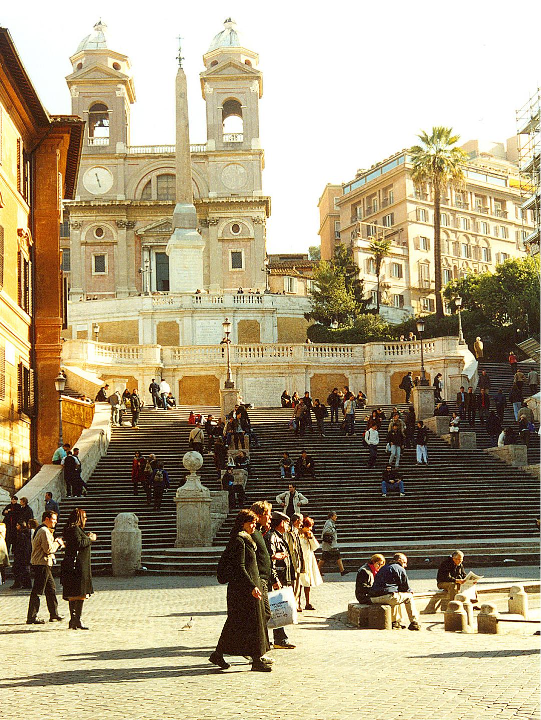 Piazza Di Spagna Roma Hotel Hasser Villa Medici