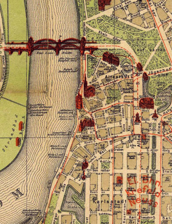 karte düsseldorf innenstadt Datei:Stadtplan Düsseldorf Altstadt und Karlstadt 1909. – Wikipedia