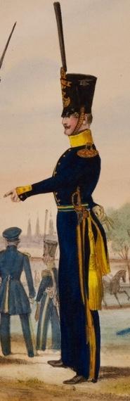 File:Subalternofficer vid Smålands grenadjärbataljon 1840.jpg