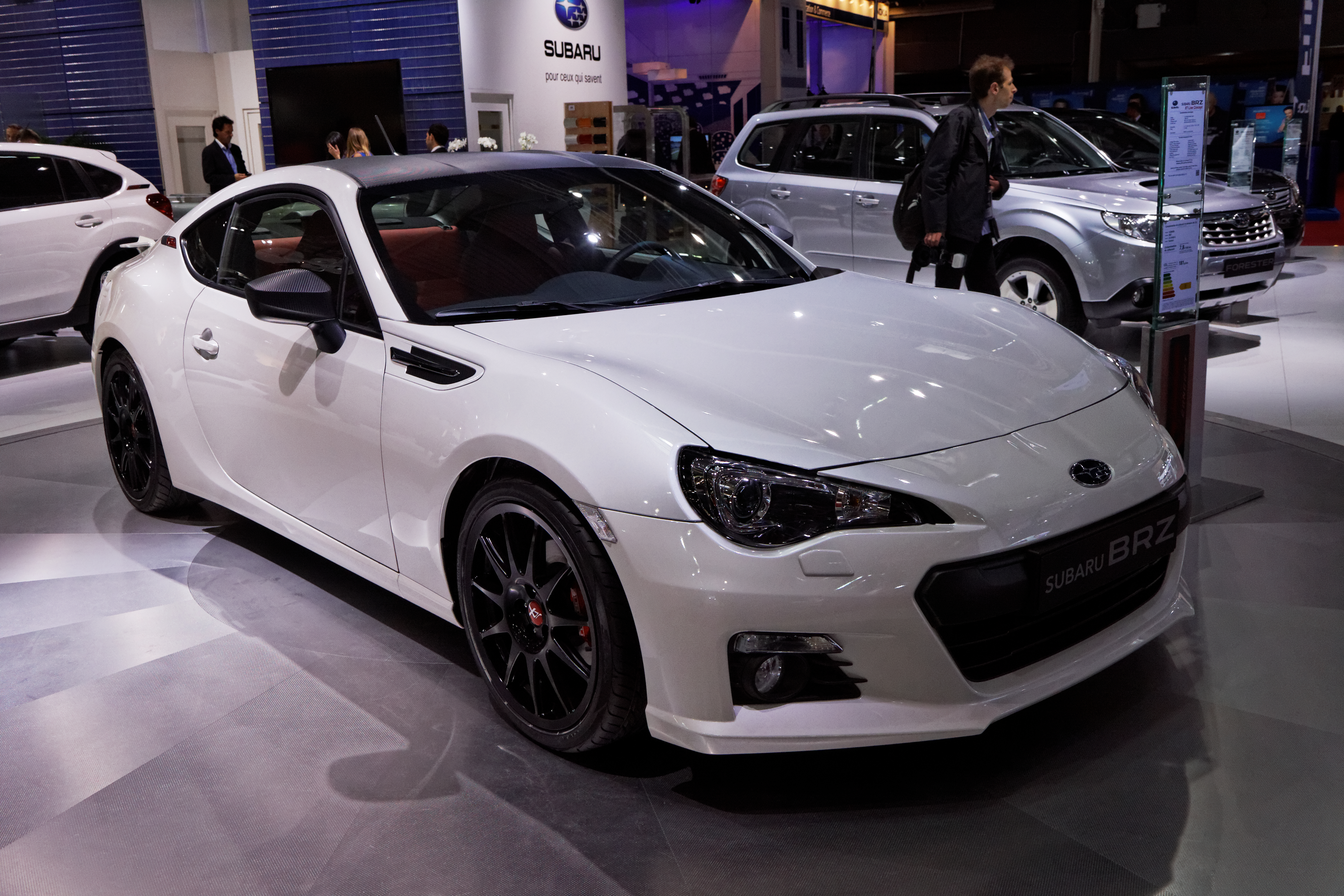 file subaru brz mondial de l 39 automobile de paris 2012 wikimedia commons. Black Bedroom Furniture Sets. Home Design Ideas