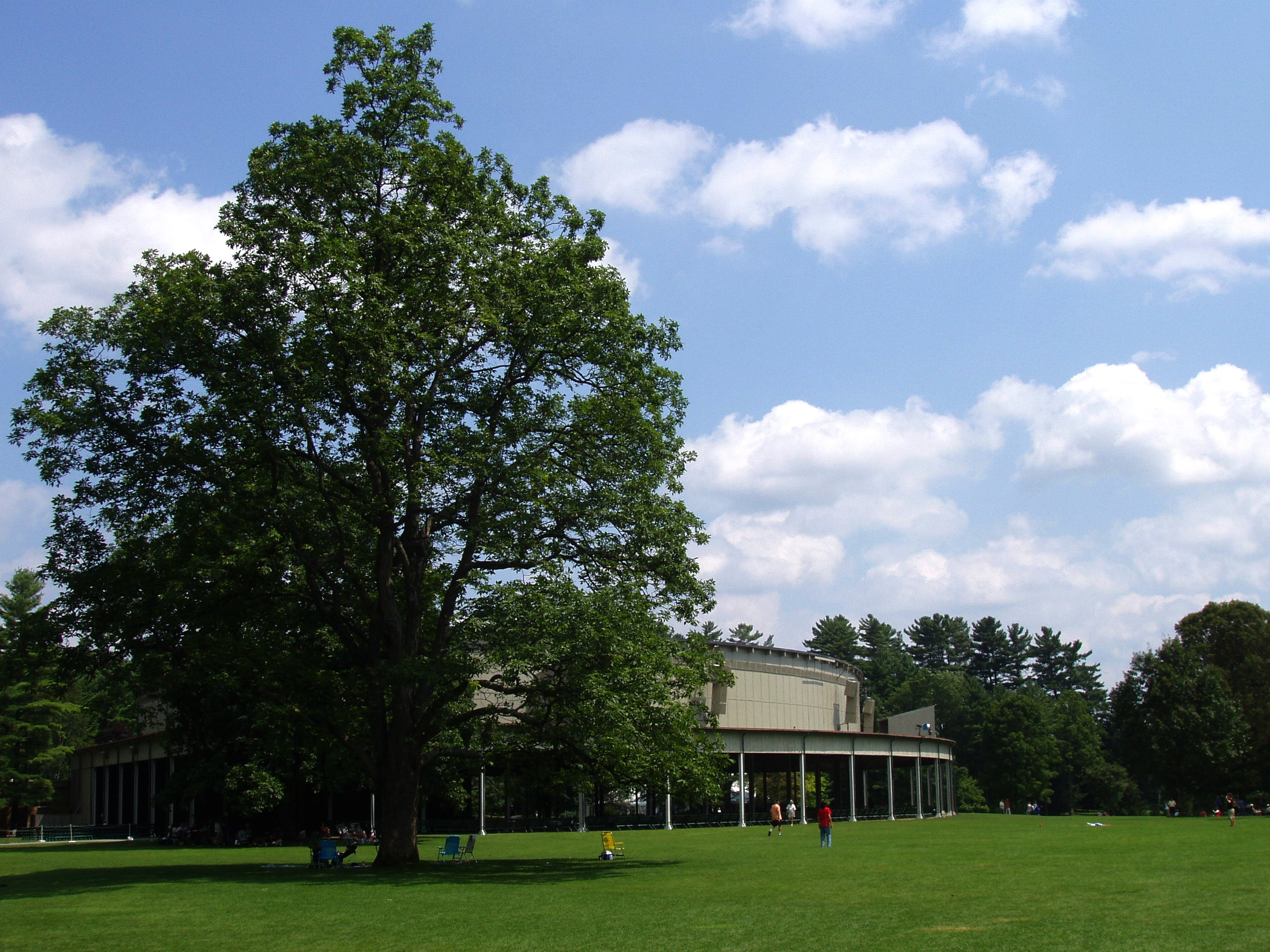 File:Tanglewood Music Shed and Lawn, Lenox, MA.JPG ...