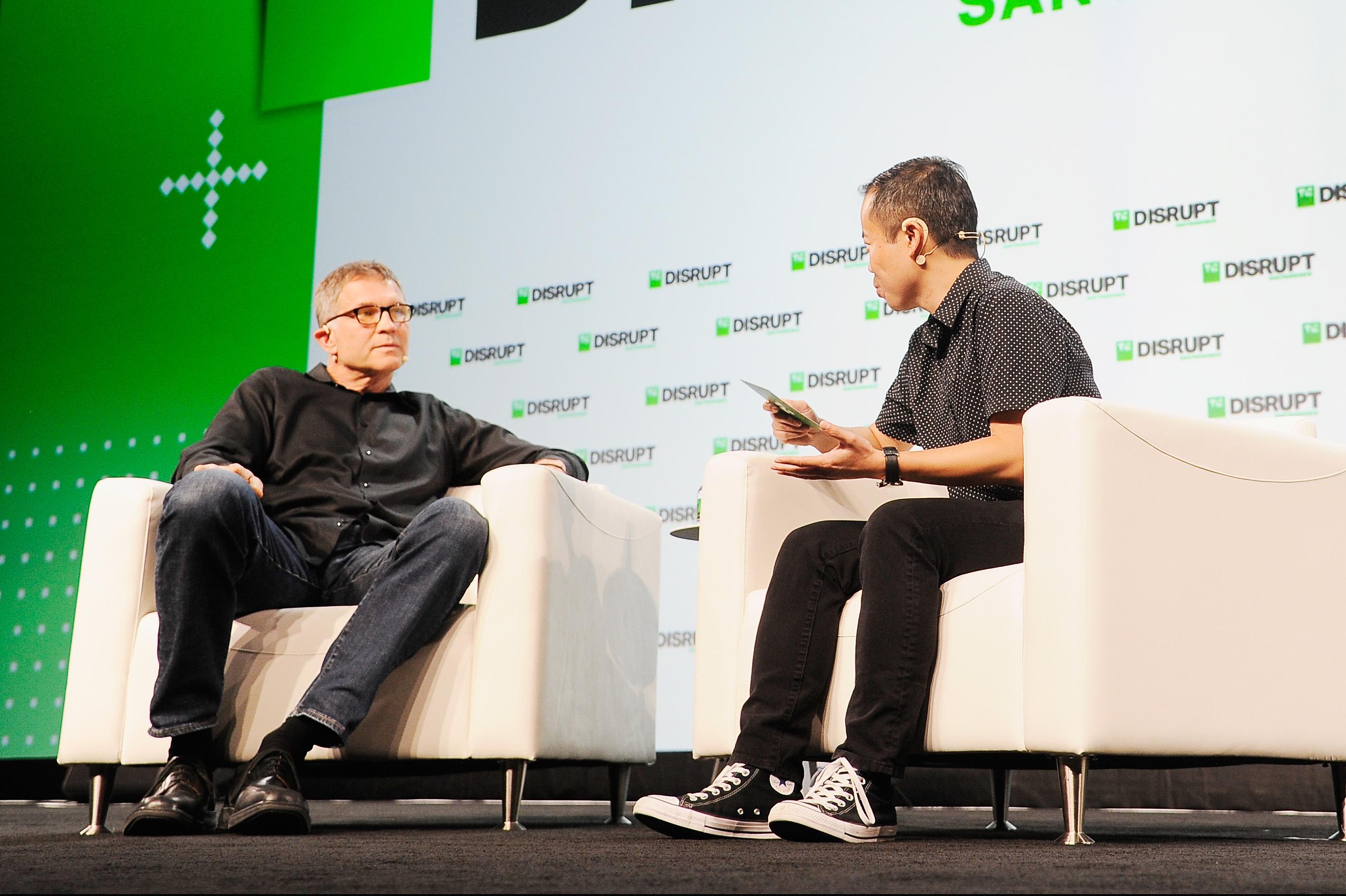 Francisco 2018 - day 1 (30633299218).jpg SAN FRANCISCO, CA - SEPTEMBER 05: Roblox Corporation Founder and CEO David Baszucki (L) and moderator Anthony Ha