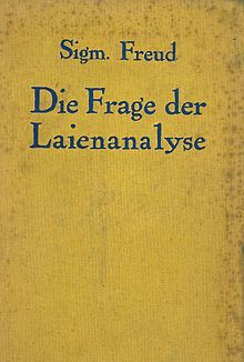 The Question of Lay Analysis, German edition.jpg