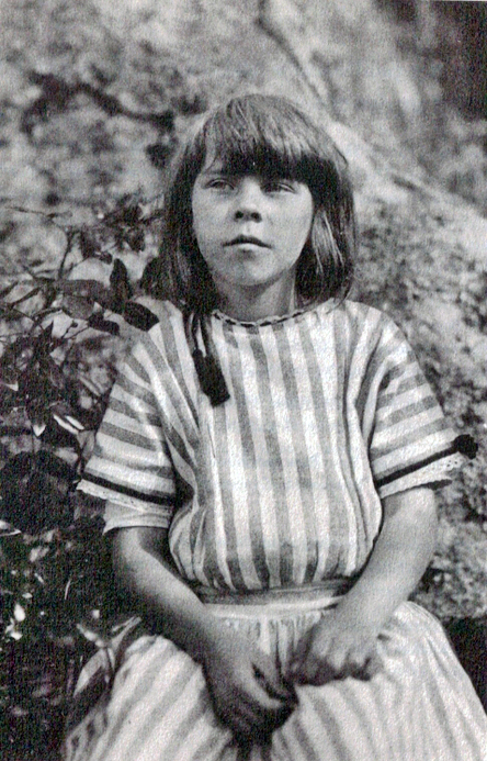 Tove Jansson in 1923